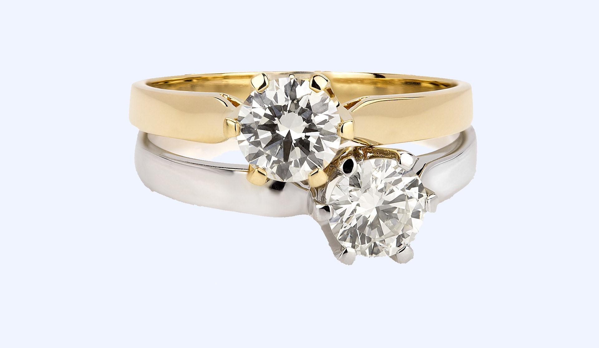 Pierścionki Zaręczynowe Z Brylantami Diamentami Aclari