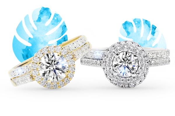 Pierścionki w stylu Halo – biżuteria, którą musisz mieć
