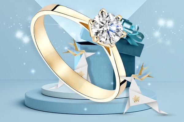 Pierścionek zaręczynowy – czy to idealny świąteczny prezent?