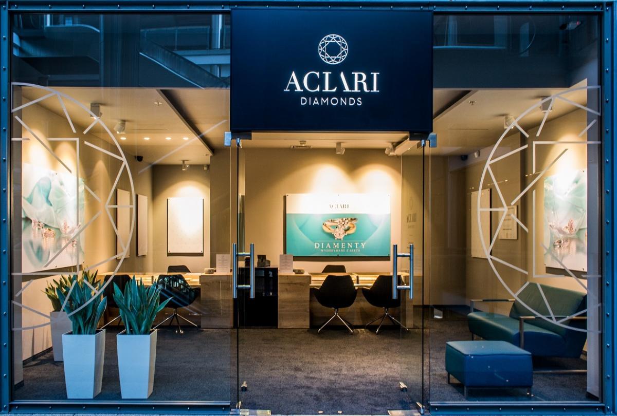 Salon ACLARI Diamonds w Katowicach
