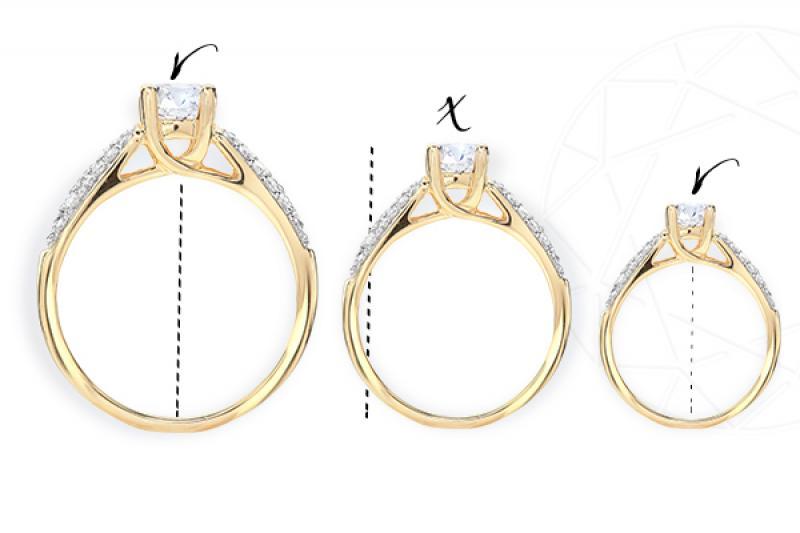Jak zmniejszyć pierścionek zaręczynowy?