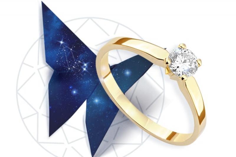 Klasyczny pierścionek zaręczynowy: prawdziwe piękno tkwi w prostocie