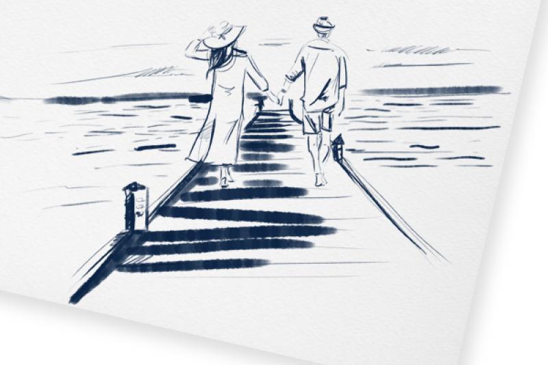 Jak zorganizować romantyczne zaręczyny nad morzem?