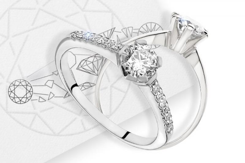 Pierścionek z diamentem czy brylantem? Oto jest pytanie.