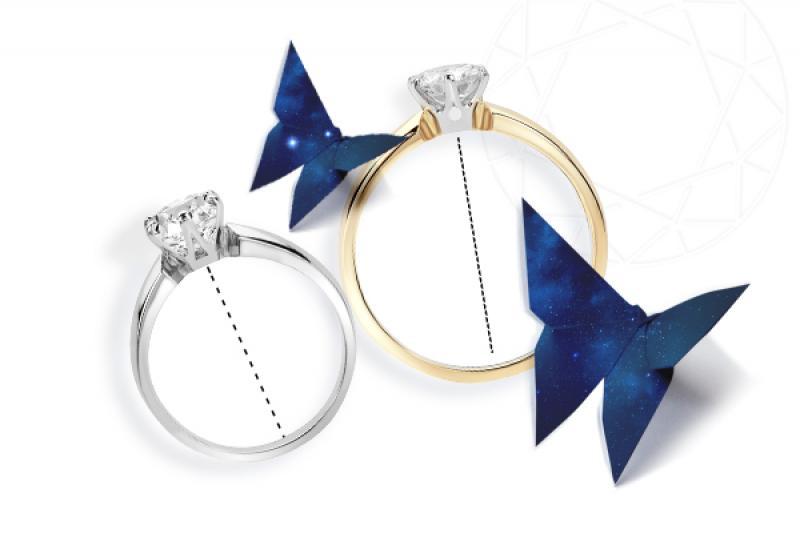 Jak dobrać rozmiar pierścionka zaręczynowego